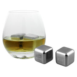 Reusable Stainless Steel SINGLE Ice Cube Will Keep Your Drinks Cool Without Diluting Them