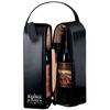 Genuine Leather 2-Bottle Wine Tote