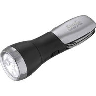 Compact Flashlight - 4 LED - with Multi-Tool