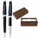 Cross&reg Aventura Onyx Black Pen Set