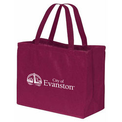 "16"" x 12"" Non-Woven Tote with 18"" Handles"