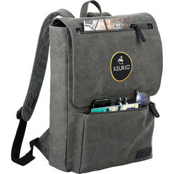 Kenneth Cole ® Canvas Compu-Backpack