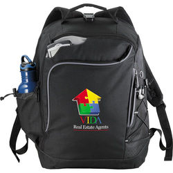 "TSA Compliant Compu-Backpack Holds Most 15"" Laptops"