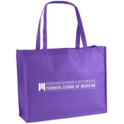 "20"" x 16"" Non-Woven Shoulder Tote with 28"" Handles"