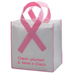 Awareness Ribbon Grocery Shopper Bag