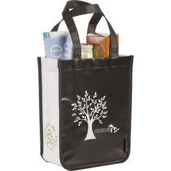"9"" x 12"" Laminated Non-Woven Small Shopper Tote"