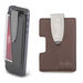 Faux Leather Phone Wallet with Money Clip