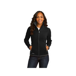 Eddie Bauer® Ladies' Full-Zip Vertical Fleece Jacket