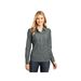 Ladies' Long Sleeve Washed Woven Shirt