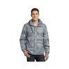 Men's Brushstroke Print Insulated Jacket