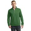 Adult Water-Repellant 1/4 Zip Sweatshirt with Collar