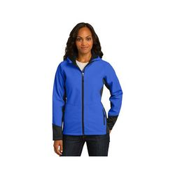 Ladies' Vertical Soft Shell Jacket