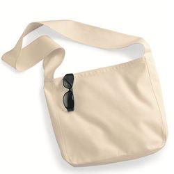 """13.5"""" x 14"""" Organic Farmer's Market Shoulder Tote Bag"""