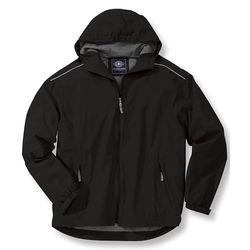 Men's Full-Zip Breathable, Waterproof Rain Jacket