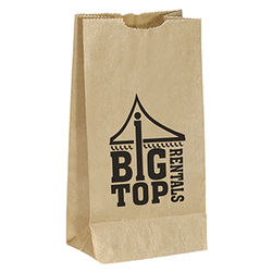 Popcorn Bag - Brown Kraft