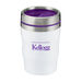 """12 oz Acrylic """"Short"""" Coffee Tumbler with Colored Lid is Keurig-Ready"""