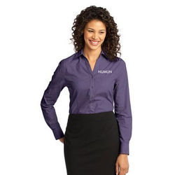 Ladies' Crosshatch Easy Care Shirt (Better)