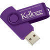 Budget USB Flash Drive (Solid Colors)  - 2GB