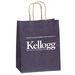 "Matte Paper Shopping Bag - 7.75"" x 9.75"" - Foil Imprint"