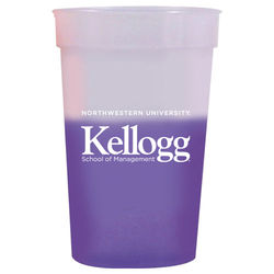 17 oz. Stadium Cup Changes Colors when Cold Liquids are Added