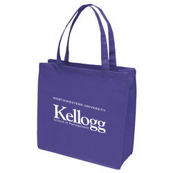 "13"" x 13"" Non-Woven Tote with 18"" Handles"