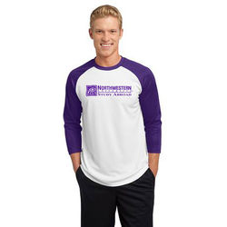 Raglan Baseball Jersey with Moisture-Wicking