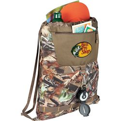 "16"" x 20"" Hunt Valley® Camouflage Drawstring Cinch Backpack"