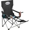Portable Folding Lounge Chair with Footrest