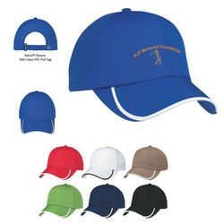 Moisture-Wicking Breathable Polyester Cap with Velcro® Closure