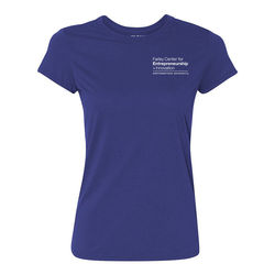 Ladies' 4.5 oz. Soft 100% Polyester Wicking T-Shirt