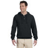 Jerzees ® Quarter-Zip Hooded Pullover Sweatshirt