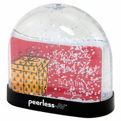 Gift Card 'Insert Your Own' Snow Globe