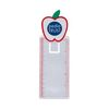 Apple Shaped Magnifying Bookmark with Ruler
