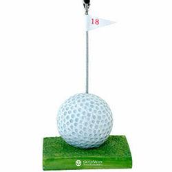 Golf Sports Note Clip