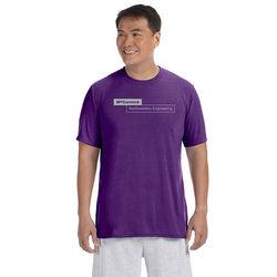 Men's 4.5 oz. Soft 100% Polyester Wicking T-Shirt