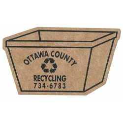 Recycling Bin Corrugated Magnet