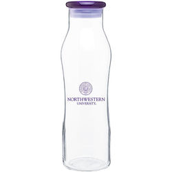 20 oz Glass Bottle with Plastic Lid