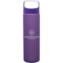 18 oz Glass Bottle with Protective Silicone Sleeve in Retail Box