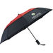 "42"" Arc Auto-Open Vented Windproof Umbrella with Color Center (17"" folded)"