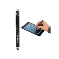 4-in-1  Stylus Pen with Light and Laser Pointer (Combo Tip)