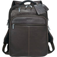 Kenneth Cole® Colombian Leather TSA Compliant Compu-Backpack (Holds up to 17