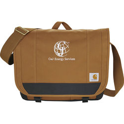 "Carhartt® Signature Compu-Messenger - Holds up to 17"" Laptops"