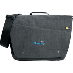 "Case Logic® Reflexion Compu-Messenger Bag - Holds up to 15.6"" Laptops"