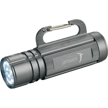High Sierra® 9 LED Carabiner Hook Flashlight