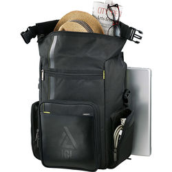 "Disrupt® Recycled Deluxe Compu-Backpack Holds up to 17"" Laptops"