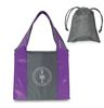 Color Blocked Polyester Folding Tote