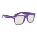 Retro Specs Sunglasses with Clear Lenses with 100% UVA And UVB Protection