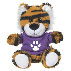 "6"" Plush Tiger"