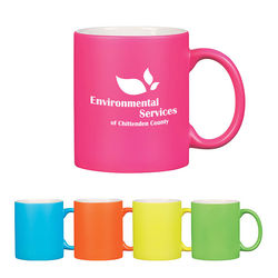 11 oz Neon C-Handle Coffee Mug