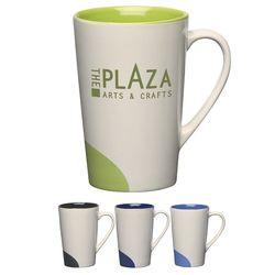 12 oz Half Moon Ceramic Mug